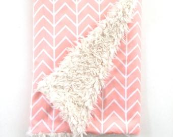 Baby Blanket Pink Chevron. The Cloud Blanket. Lovey. Faux Fur Baby Blanket. Minky Baby Blanket. Chevron Baby Blanket. Pink Baby Blanket.