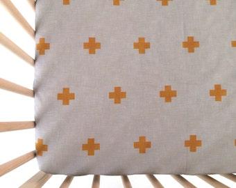 Crib Sheet North South East West. Fitted Crib Sheet. Baby Bedding. Crib Bedding. Minky Crib Sheet. Crib Sheets. Gray Crib Sheet.