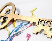 Wooden Kappa Kappa Gamma Key Sign.