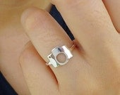Sterling Silver Camera Ring - Photography Ring - Sterling Silver Ring - Photographers ring