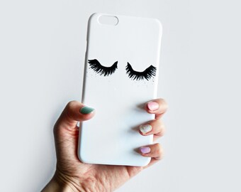Fluttery Eyelash phone case for iPhone SE, iPhone 6Plus, iPhone 5/5s, iPhone Samsung Galaxy S7, Samsung Galaxy S6, iPhone 7 Plus, iPhone 7