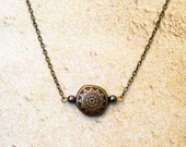 The Adventurer's Necklace - Unisex Explorer Necklace - Uncharted and Tomb Raider Inspired