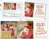 Christmas Facebook Timeline Cover Template, Holiday Facebook Timeline Template, Facebook Cover Template, Photography Marketing Template
