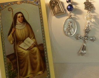 Saint Monica ~Rosary Chaplet,St of mothers,  Pray for Children, Lost Children, Pray for Salvation,Worry about Children,Pray for Souls,