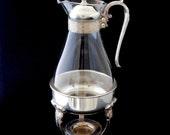 Coffee Carafe, Sheridan Taunton Silversmith E.P. Brass