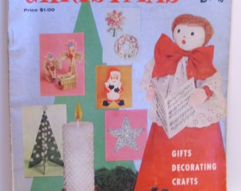 McCall's Christmas Make-It Book Volume 1, 1958