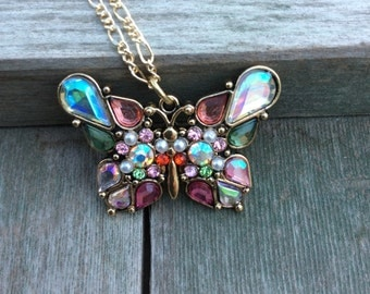 Fancy Flight Butterfly/Garden/Whimsical/Fantasy/Cottage Chic