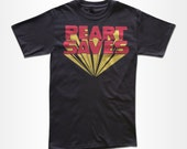 Peart Saves T Shirt - Retro Graphic Tees for Men, Women & Children
