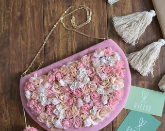 The Rosie Field Clutch - 30% off on sale flower purse