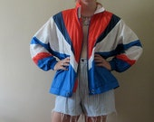 CLASSIC PATRIOTIC WINDBREAKER - super sale going out of business holiday steal stocking stuffer unique hipster