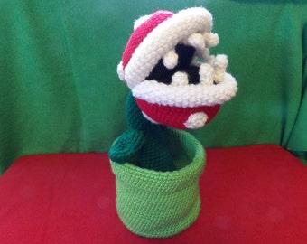 Nintendo Mario Crochet Piranha Plant