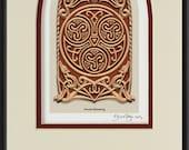 Celtic House Blessing - Digital Art Print -  Irish home blessing, Scottish, housewarming gift - realtor closing gift - wall art