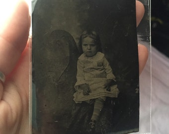 Mama or Chair? Antique Tintype