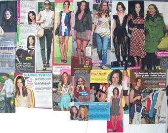 LEIGHTON MEESTER ~ Gossip Girl, County Strong, The Roommate, Somebody to Love, Blair Waldorf ~ Color Clippings, Articles for Scrapbooking