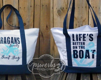 ExtraLarge Canvas Boat Bag