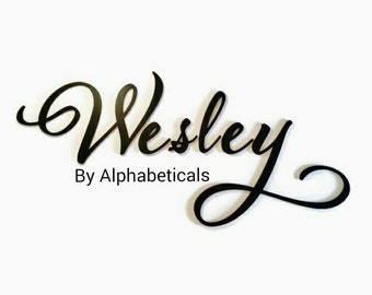 Baby Boy Nursery Wall Art Wooden Letters for Nursery Name Signs Wall Letters Wooden Signs Alphabeticals Wall Decor Wall Hanging W Large