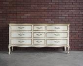 Dresser / French Provincial Dresser / Country French Dresser / Vintage Dresser by Henredon