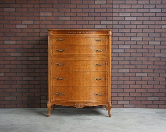 french provincial tall chest highboy dresser tall chest of drawers by mount airy