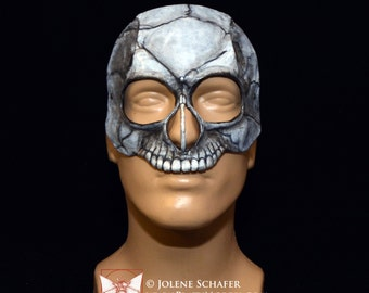 Leather Skull Masquerade Cosplay Mask