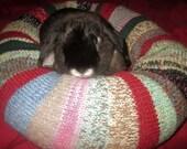 alpaca Tussah silk mohair and wool Ugli Donut bunny rabbit bed