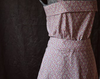 80's Sundress / Dresses for Women / Dresses / Dress / Pink Dress / Sleeveless Dress / Sundress / Unique Dress / Cute Dress / Cotton Dress