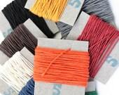 5m English 3-ply Linen Thread, Non-Waxed