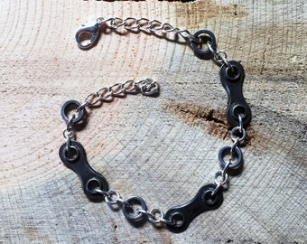 Upcycled Bicycle Chain Bracelet - bike bracelet, bicycle bracelet, bicycle jewelry, bicycle accessories