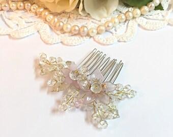 Wedding Hair Combs, bridal hair comb gold, hair combs for wedding, crystal hair comb, hair comb art deco, wedding hair accessories bridal
