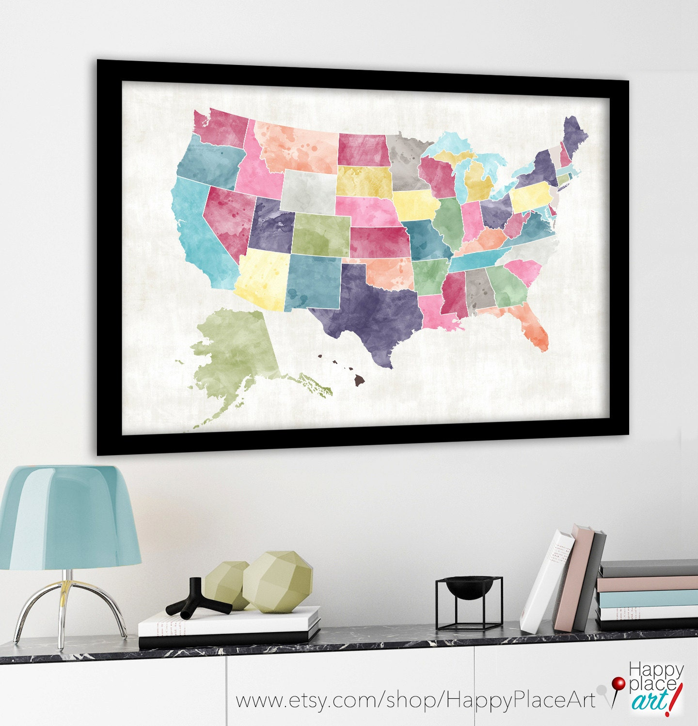Us travel map – Family Travel Map