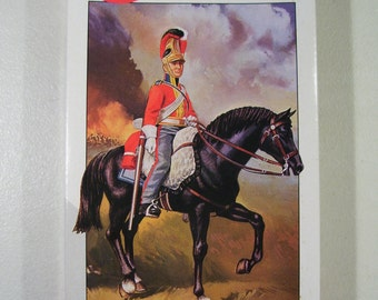 Vintage Airfix Life Guard 1815 Soldier Model Kit Figure, 54MM, Series 2, New 1990