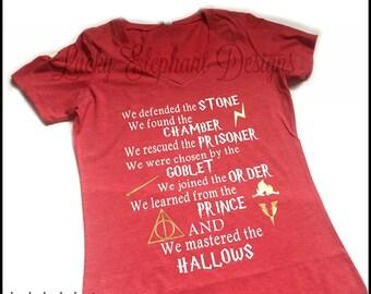 Harry Potter Generation Shirt - Harry Potter Book Series Shirt - Harry Potter Deathly Hallows Shirt - Harry Potter Generation Tee