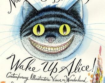 Wake Up Alice! Cheshire Cat Poster