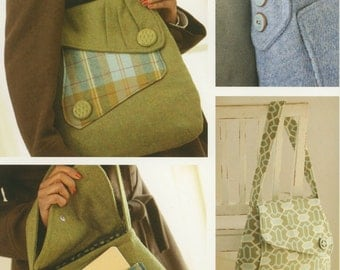 Country Courier Bag Pattern by Indygo Junction (IJ925)