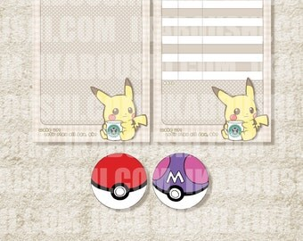 Pokémon ポケモン Inspired Digital File