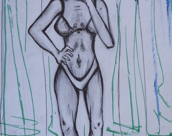 "Conceptual Illustration ""Body Image"""