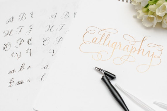 Calligraphy Starter Kit Calligraphy Gift Set Calligraphy