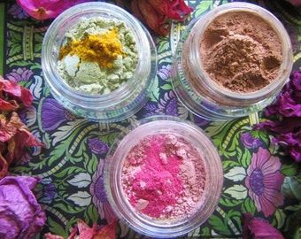 face masks / pick your poison: deep cleansing, nourishing, soothing