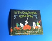 It's The Great Pumpkin Charlie Brown Book by Charles Schulz, First edition, Hardcover, 1967