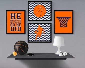 sports room decor