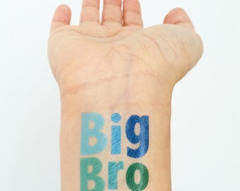 Big Brother Temporary Tattoos