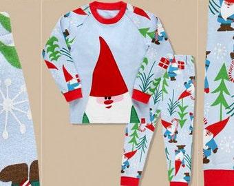 kids Christmas Pattern pajamas - Santa / PJs / Pajamas for kids / toddler size 12M-8