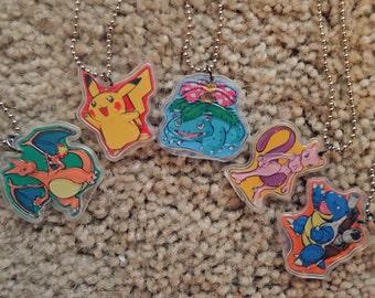 Pokemon Necklaces