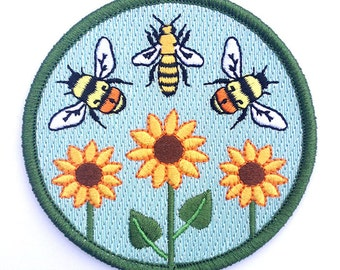 Bumble & Honey Bee Patch