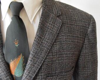 Vintage 1960s Wool Blazer by Hart Schaffner and Marx Size 40