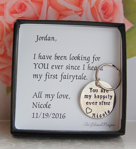 Wedding Day Gift For Bride From Groom : GROOM Gift from Bride To groom from bride Gift for Fiance