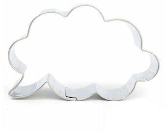 SALE Thought Cloud Bubble Cookie Cutter - DZ-219 - Mold Party Biscuit Fondant Sugar Cutter