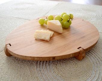 Olive Bamboo Cheese Board, Cutting Board, wood cutting board, cheese serving board, bamboo cutting board, entertaining, housewarming gift