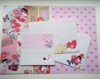Stationery Letter Writing Set - Love Letters