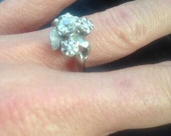 Vintage Minecut Diamond Ring