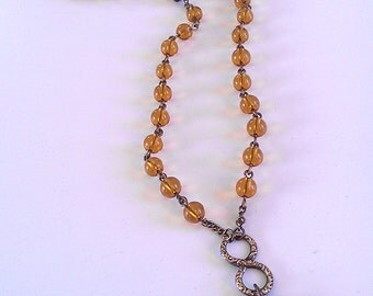 Entwining Serpents Beaded Necklace